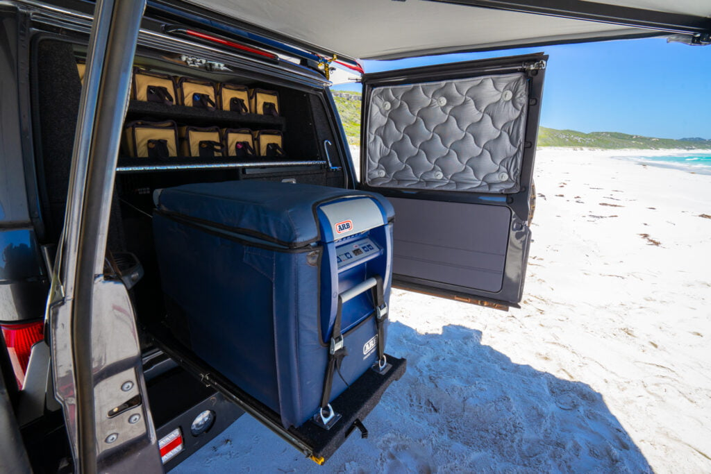 76 Series Landcruiser Second Row Seat Removal Setup-6