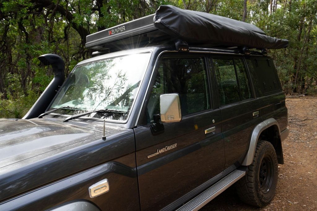 76 Series LandCruiser Rapid Wing Awning