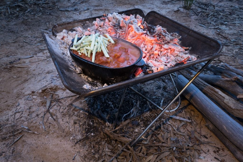 Campfire Lamb and Vegetable Stew 14