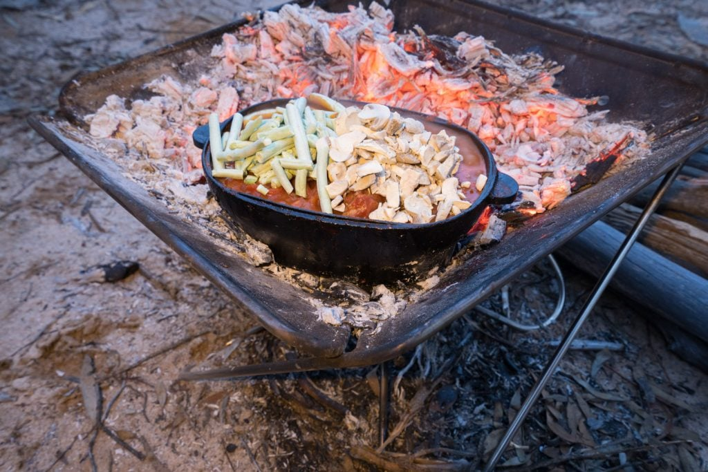 Campfire Lamb and Vegetable Stew 15