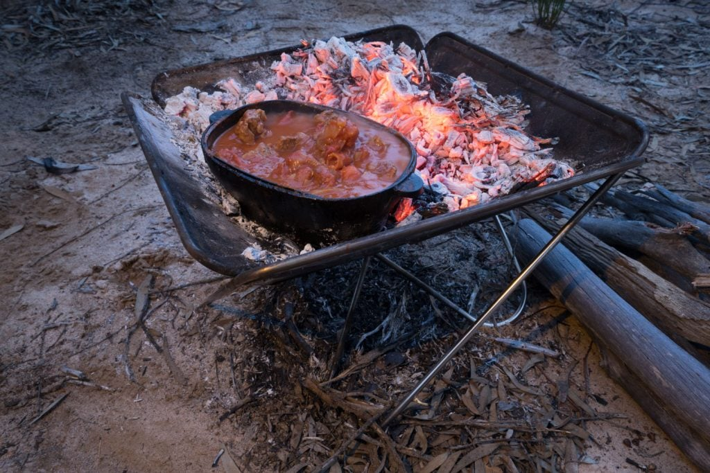 Campfire Lamb and Vegetable Stew 13