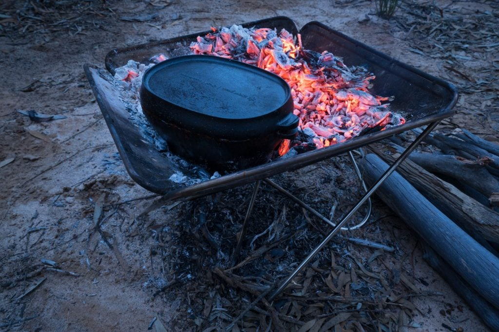 Campfire Lamb and Vegetable Stew 12