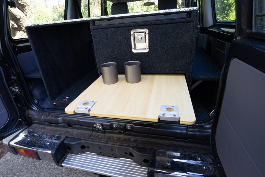 76 Series LandCruiser Rear Drawers and Kitchen