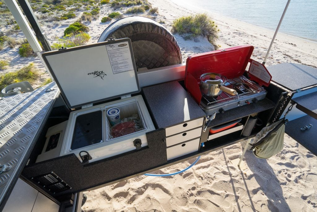 drifta camper trailer kitchen 2