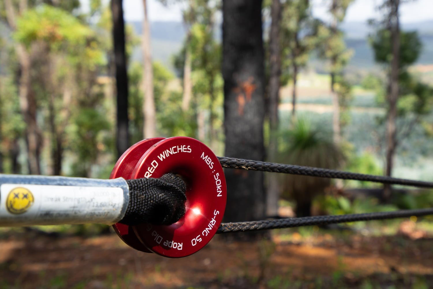 Red Winches Snatch Ring Adventure Curated