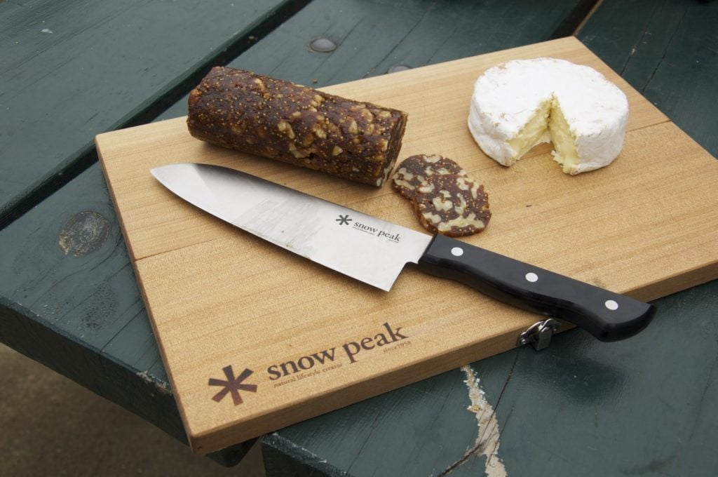 snow peak cutting board set 5