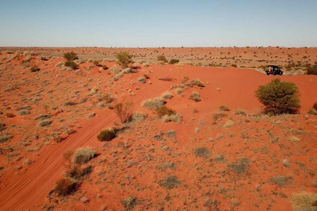 French Line, Simpson Desert