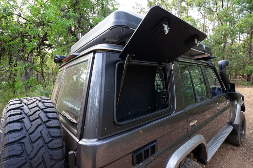 76 Series LandCruiser Front Runner Gull Windows