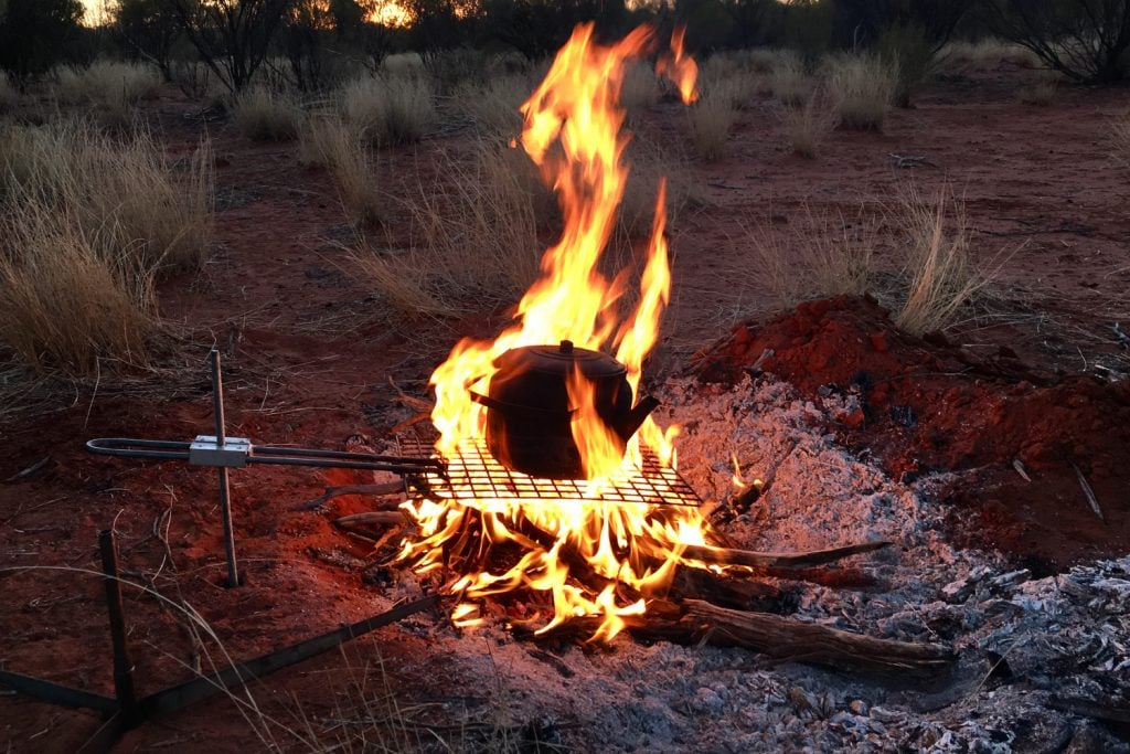 burning your camp rubbish 4