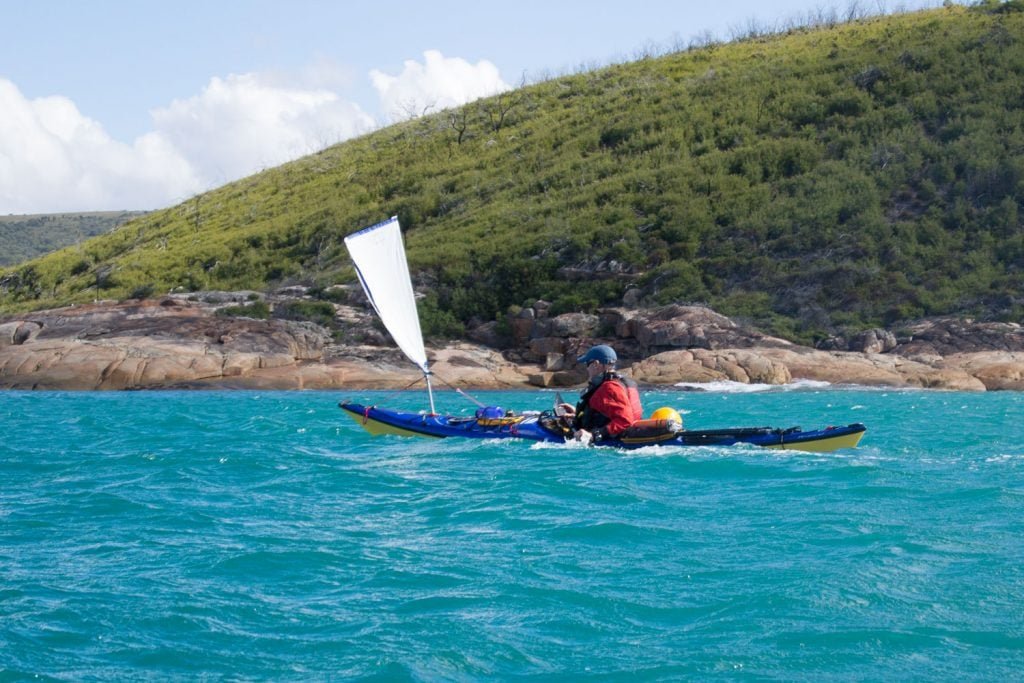 kayaking bass strait 1