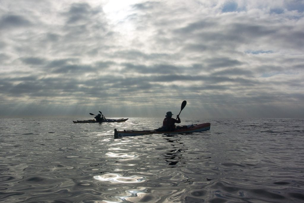 kayaking bass strait
