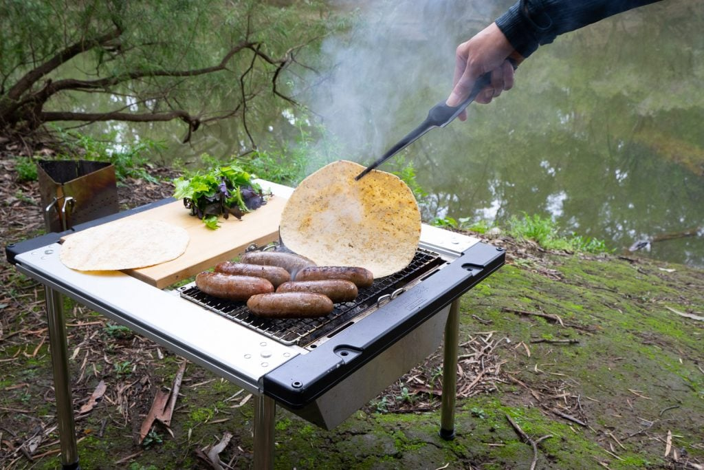 Snow Peak Iron Grill Table