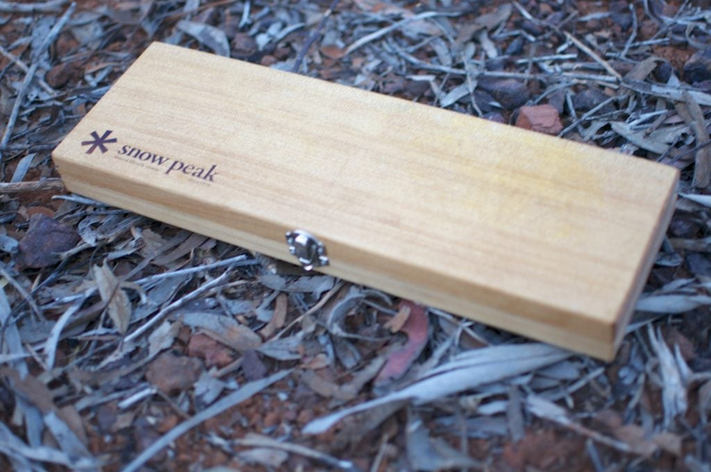 snow peak cutting board set 2