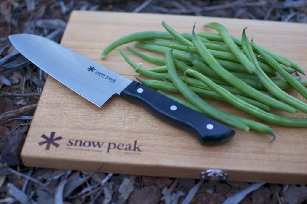snow peak cutting board set 3