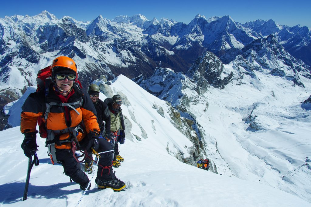 Trekking Peaks, Nepal, Gyajo Ri, Tim Macartney-Snape, World Expeditions, Adventure Curated