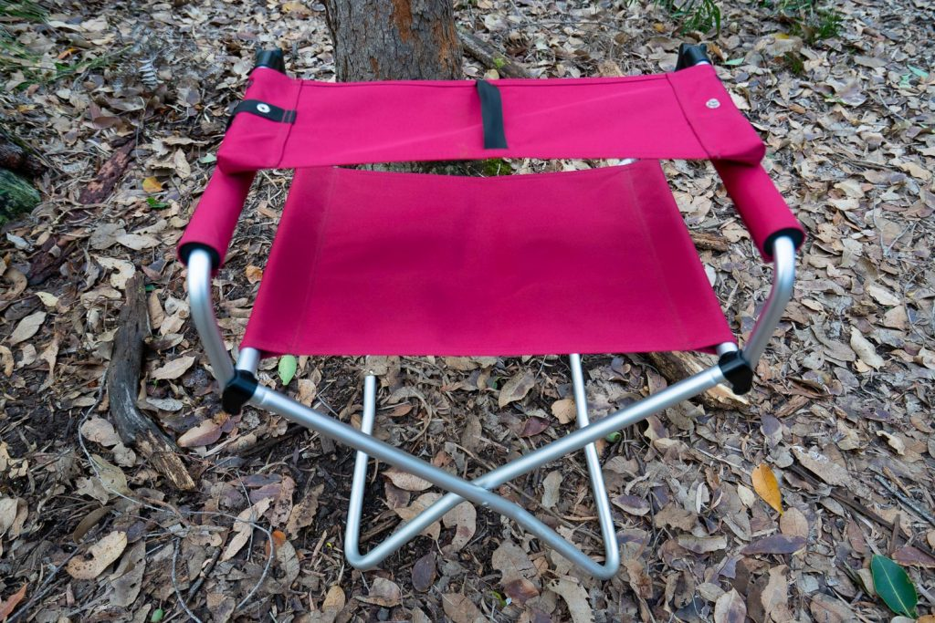 Snow Peak Red Folding Chair