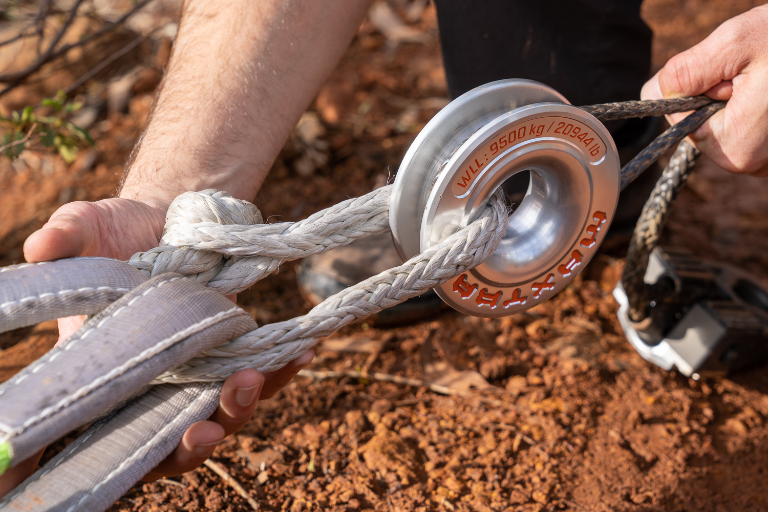 The Safe Light Maxtrax Winch Ring Adventure Curated
