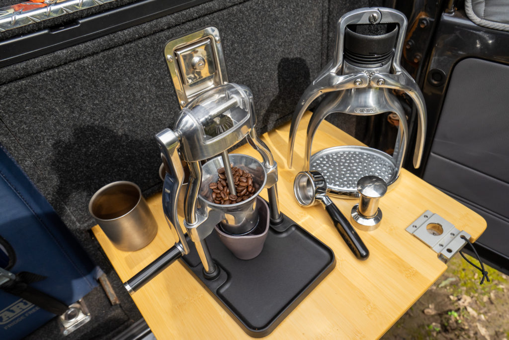 Pull pro-quality shots with the ROK Espresso Maker 2