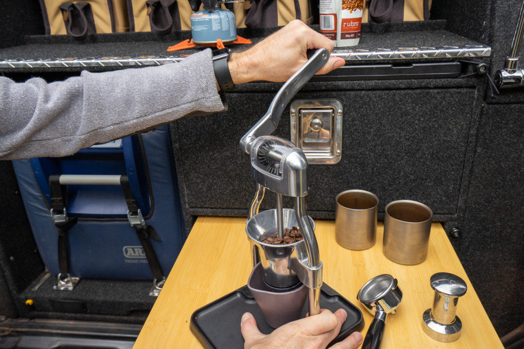 Pull pro-quality shots with the ROK Espresso Maker 3