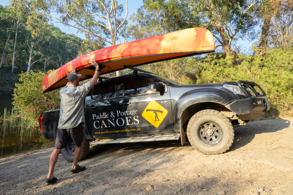 how to transport a canoe 2