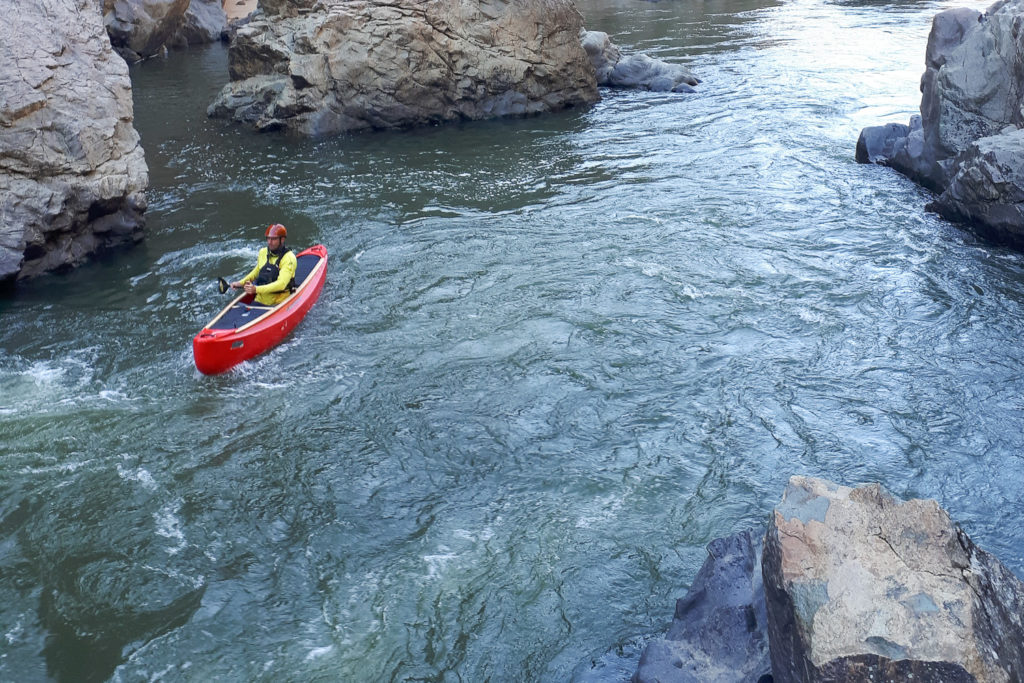 Canoeing the Snowy River