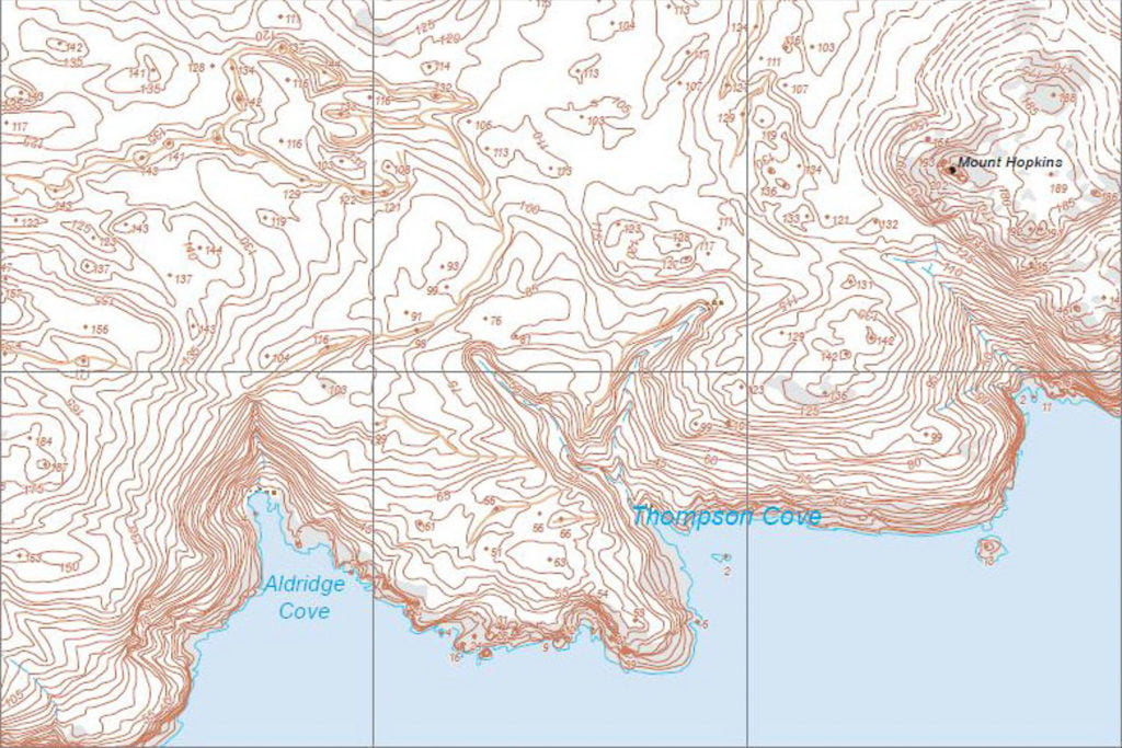 Topographical Maps 1:25,000