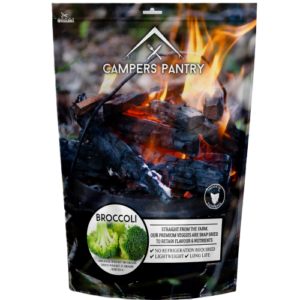 Campers Pantry Broccoli Freeze Dried Vegetables