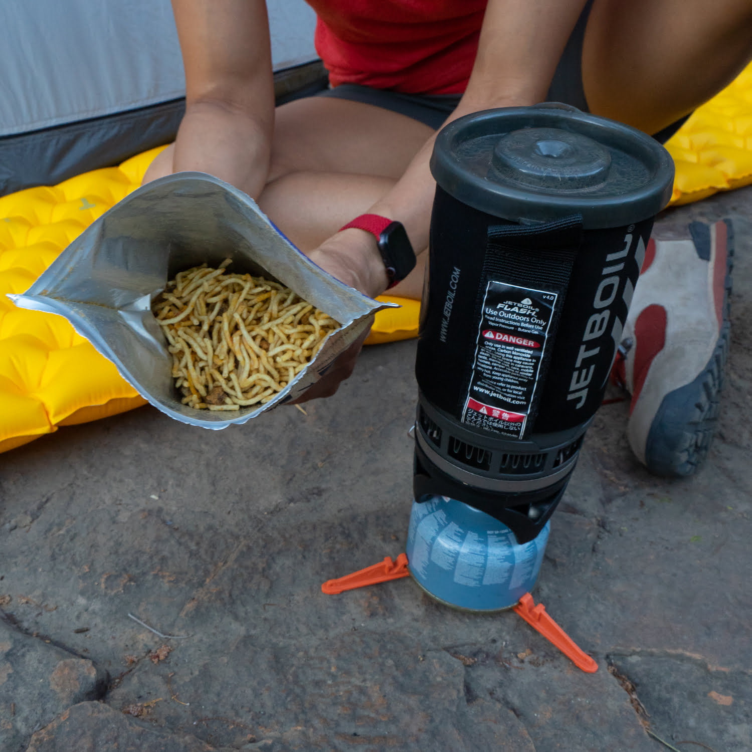 Campers Pantry Spaghetti Bolognese 4